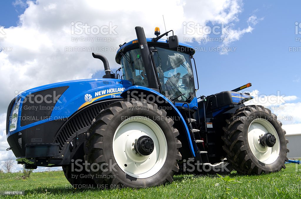 New Holland Tractor stock photo