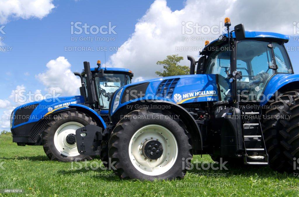 New Holland Tractors stock photo