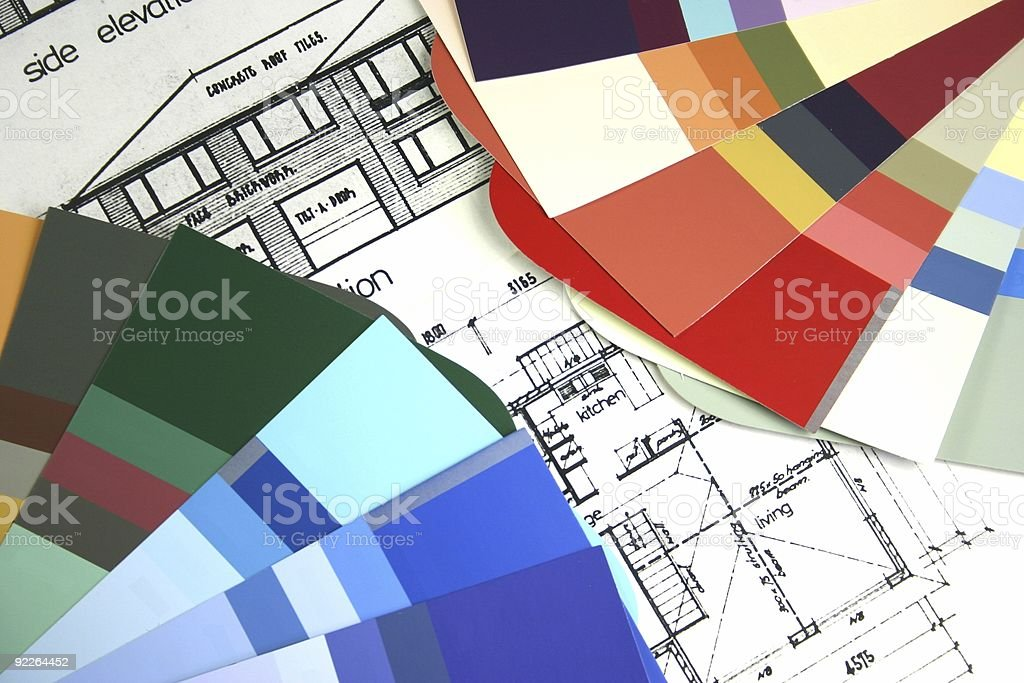 New Home Building royalty-free stock photo