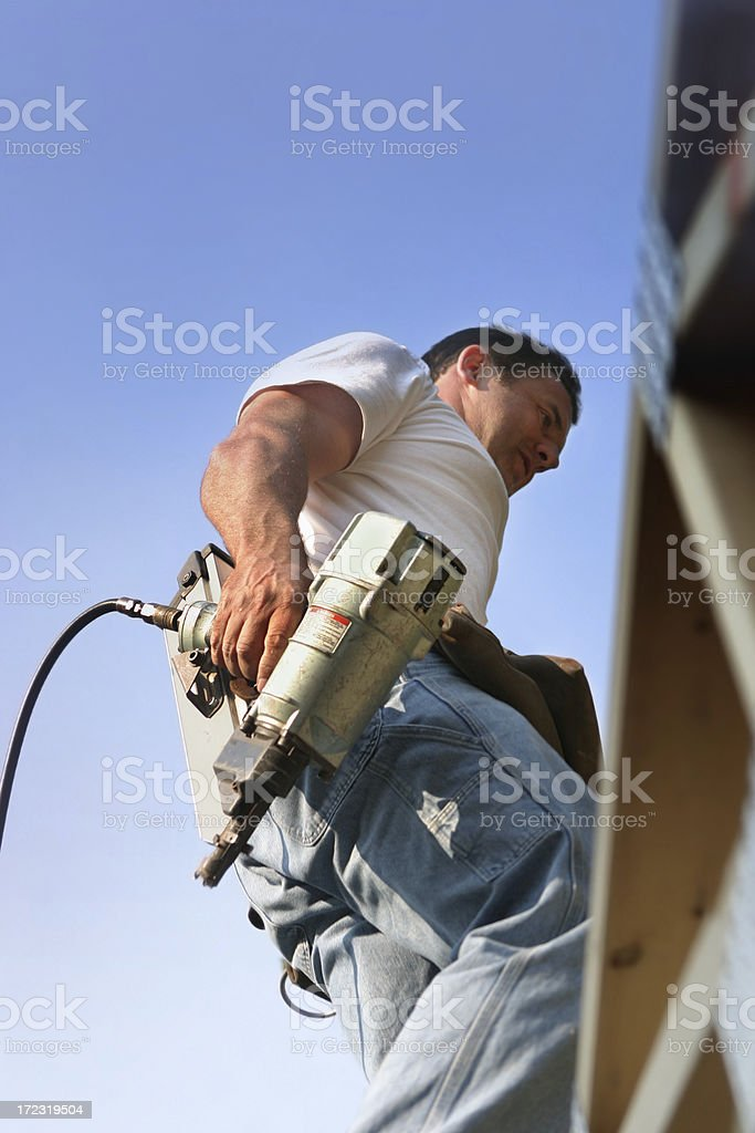 New Home Construction royalty-free stock photo
