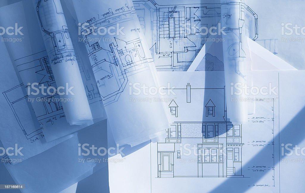 new home draft royalty-free stock photo