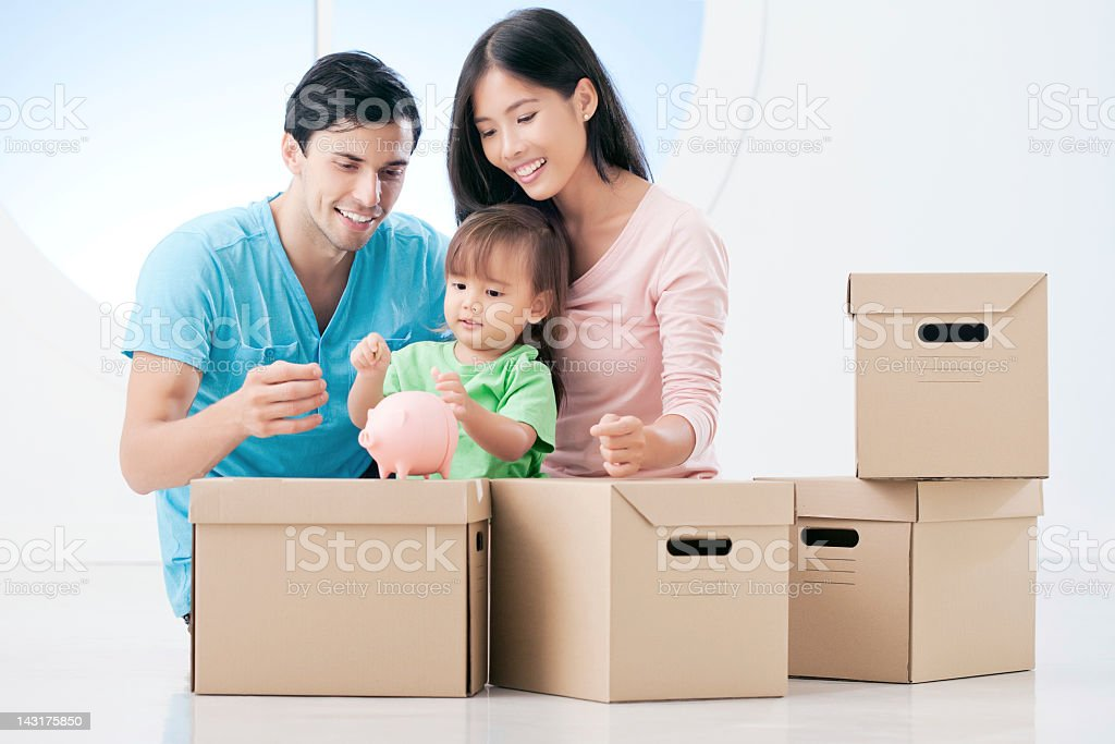 New Home Funds stock photo
