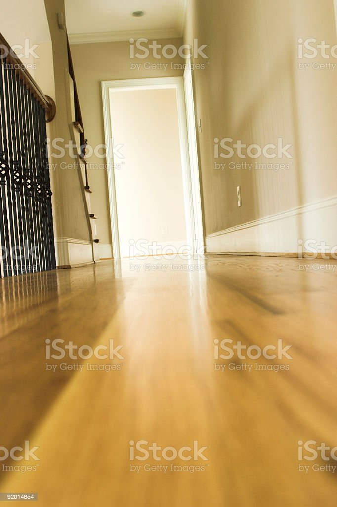 New Home - Hallway royalty-free stock photo