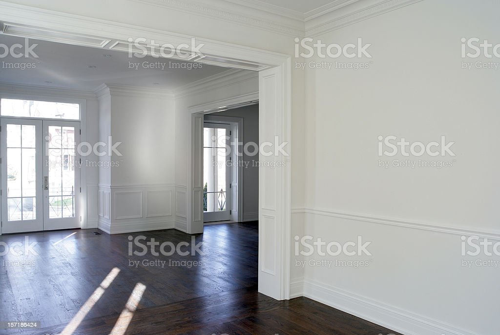 New Home interior royalty-free stock photo