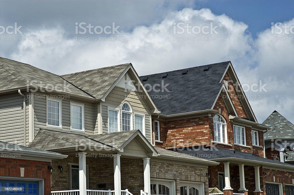 New Home market stock photo