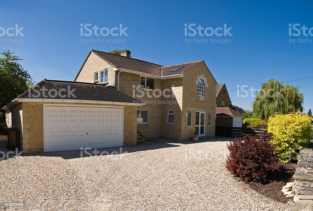 New Home. stock photo