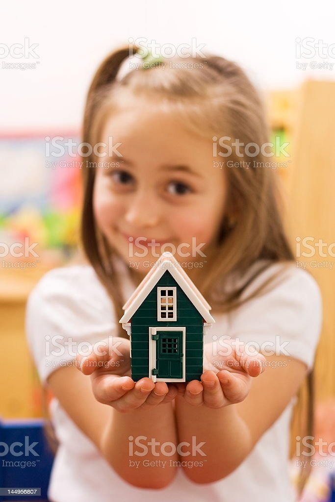 New home royalty-free stock photo
