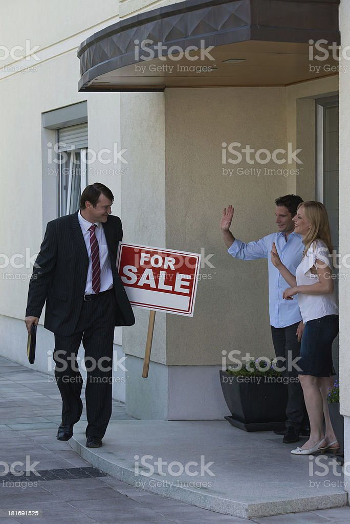 New home. royalty-free stock photo