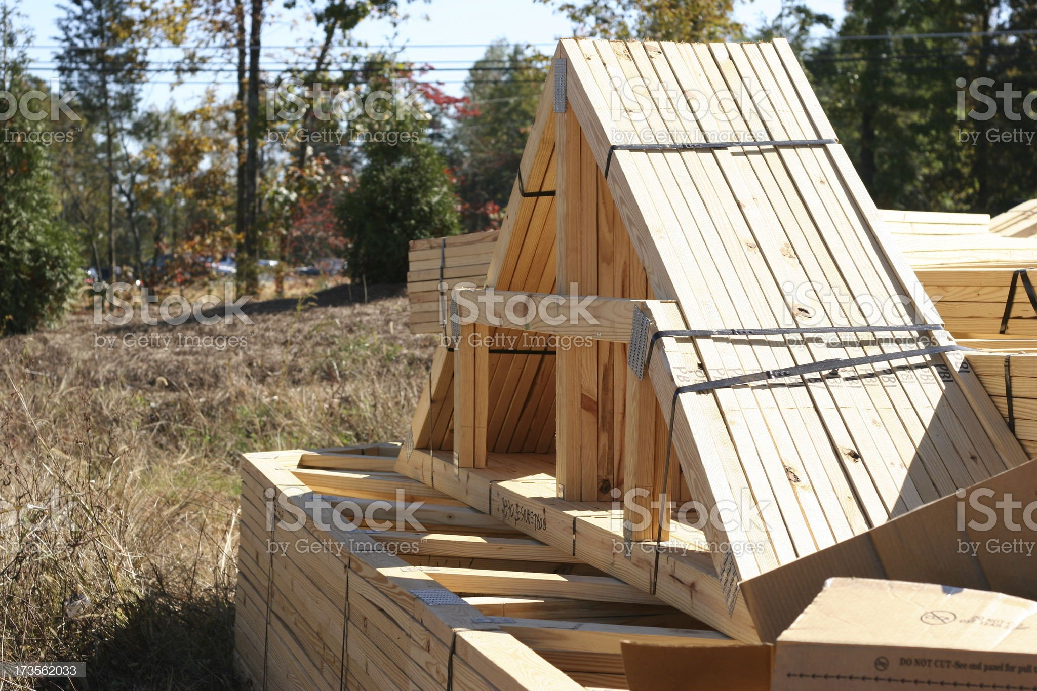 New Home Site royalty-free stock photo