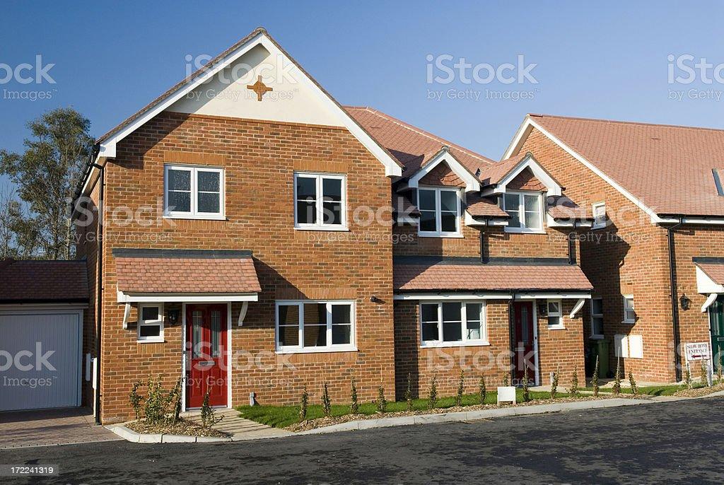 New Homes stock photo