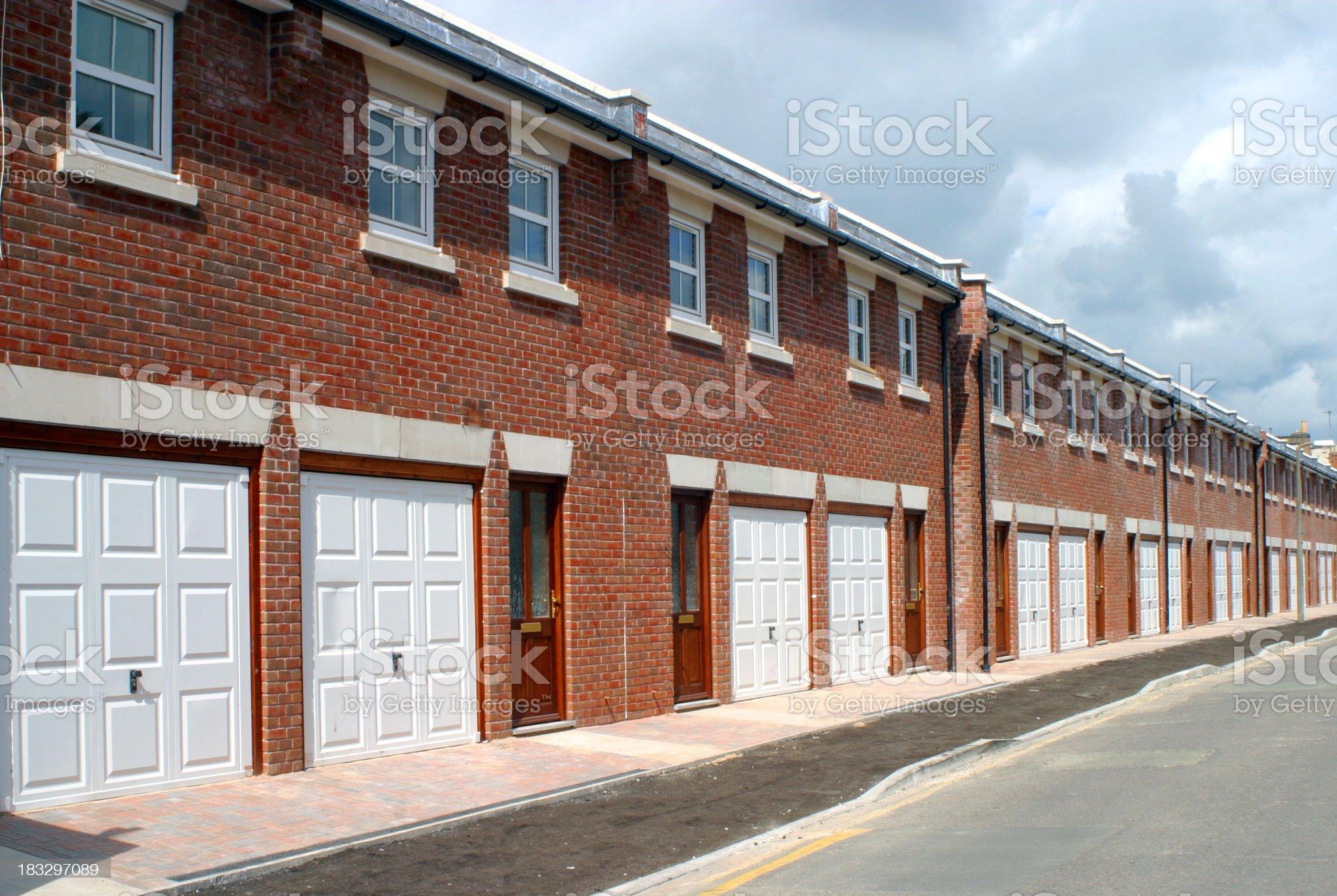 New homes - UK royalty-free stock photo