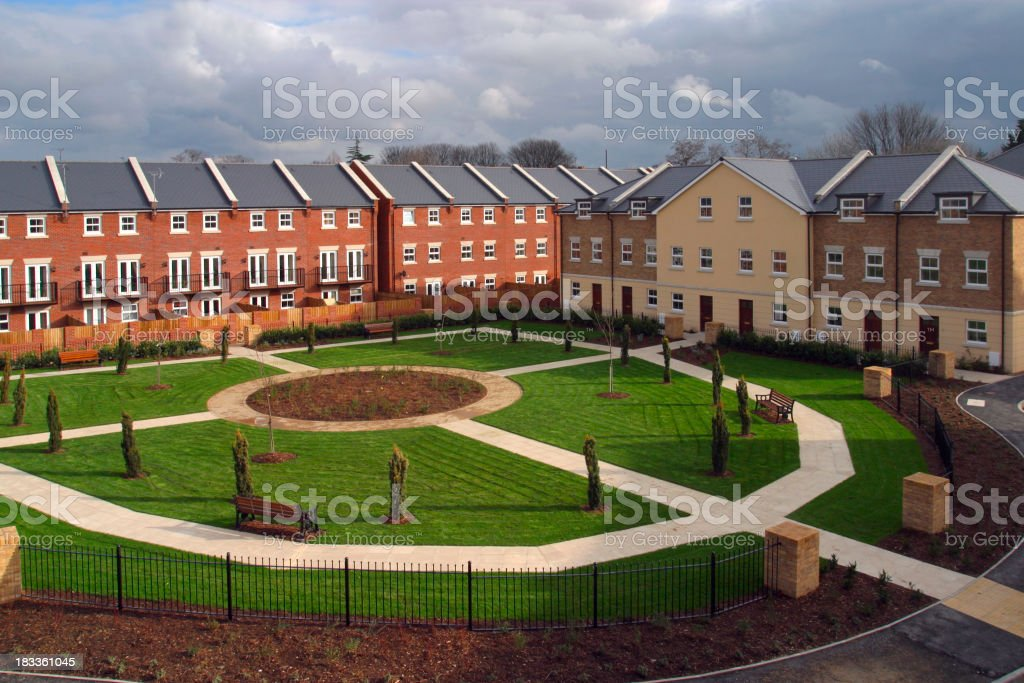 New homes - UK royalty-free stock photo