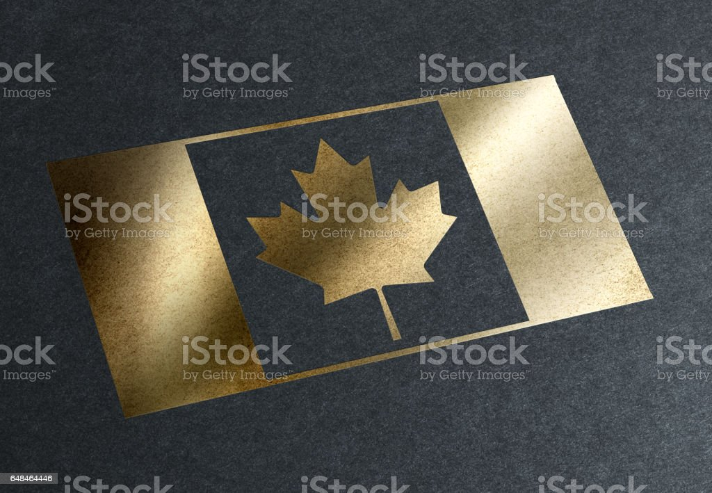 New Hope: Canadian Citizenship stock photo