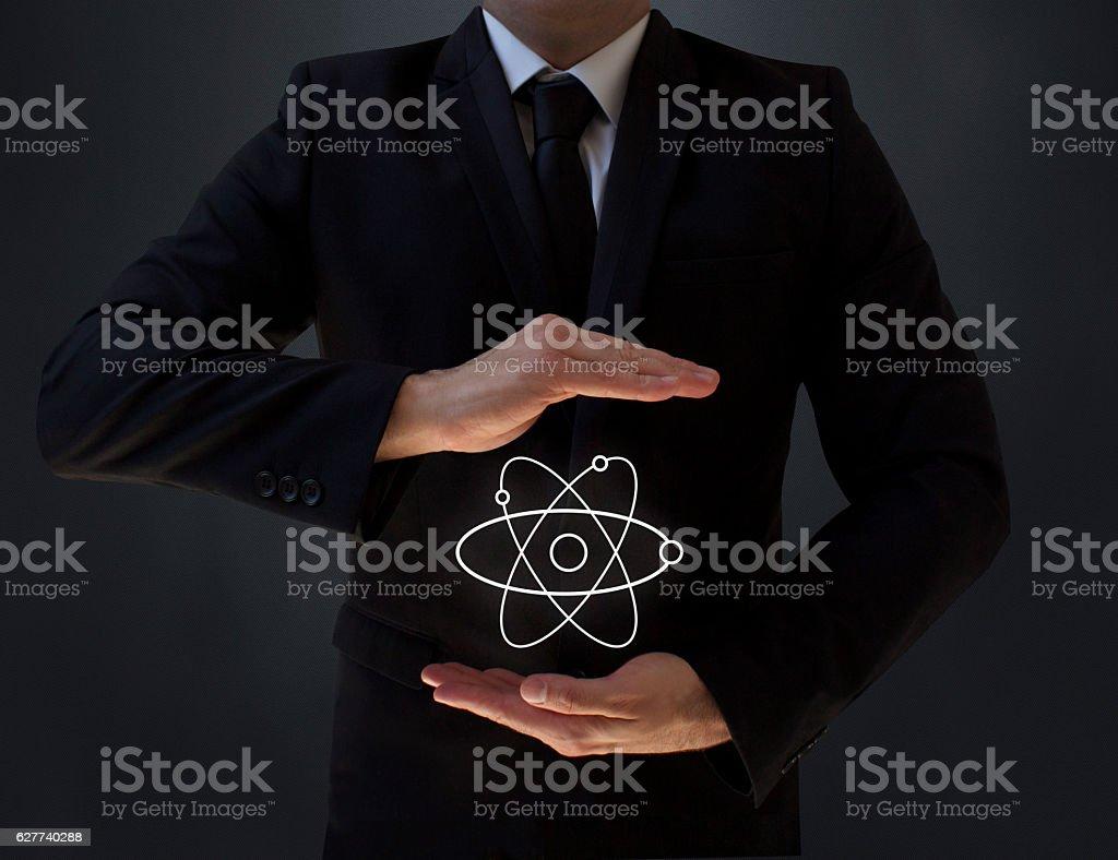 New Hope: Fusion Energy stock photo