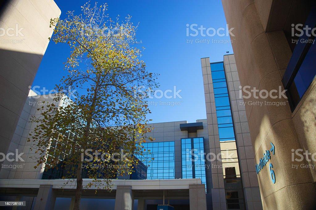 New Hospital Building royalty-free stock photo