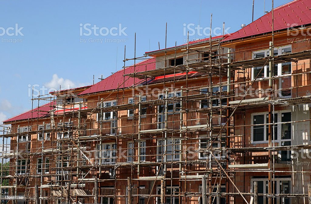new house and home construction royalty-free stock photo