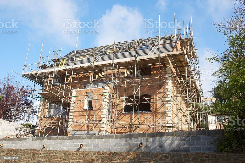 New house build royalty-free stock photo