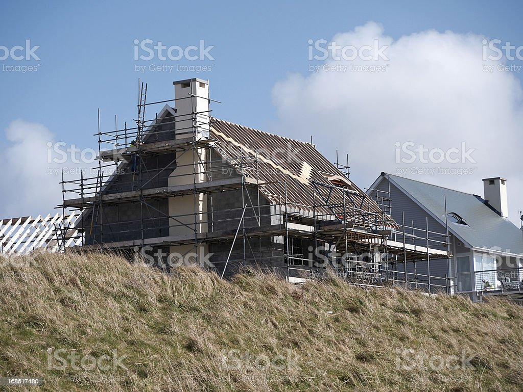 New house build royalty-free stock photo