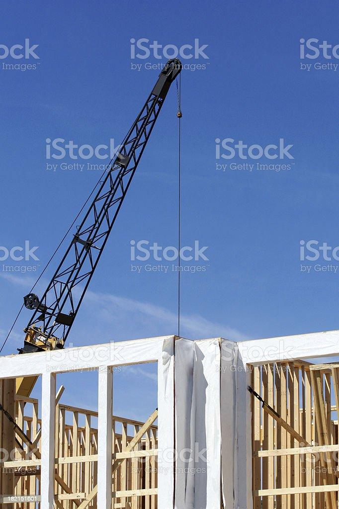 New House Construction stock photo