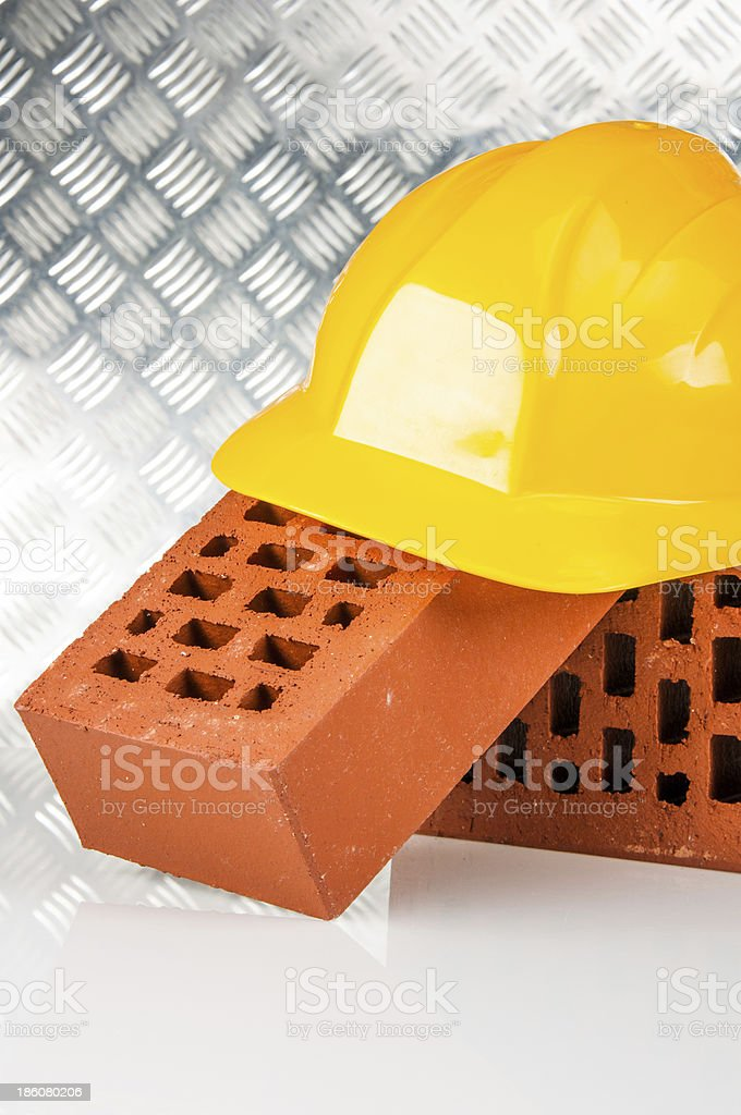 New house is under construction royalty-free stock photo