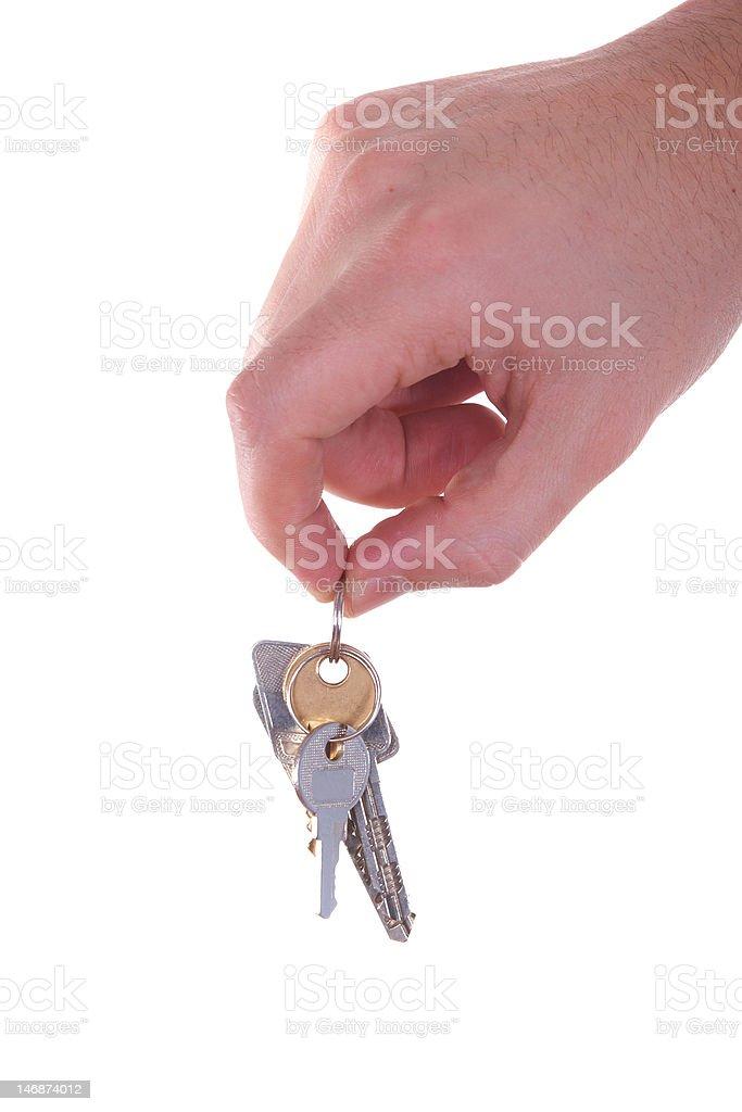 New house keys royalty-free stock photo