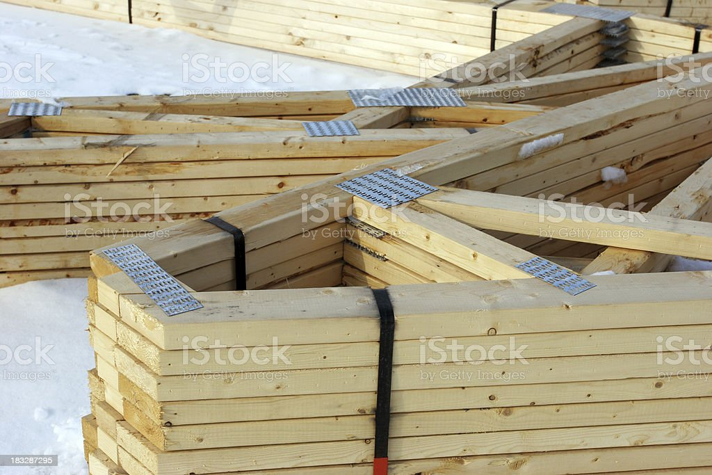 New house materials royalty-free stock photo