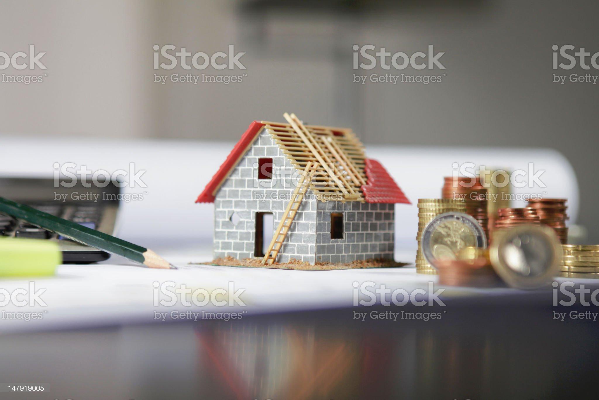 new house royalty-free stock photo