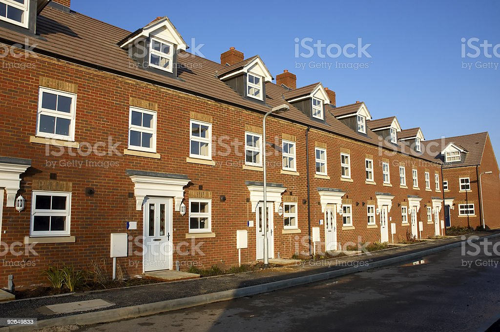 New houses royalty-free stock photo