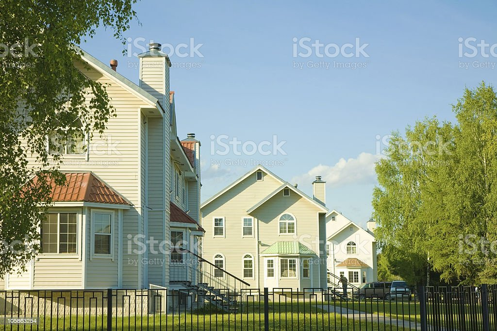 New Houses series royalty-free stock photo