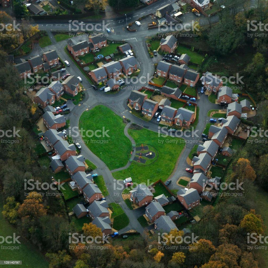 New Housing Estate royalty-free stock photo