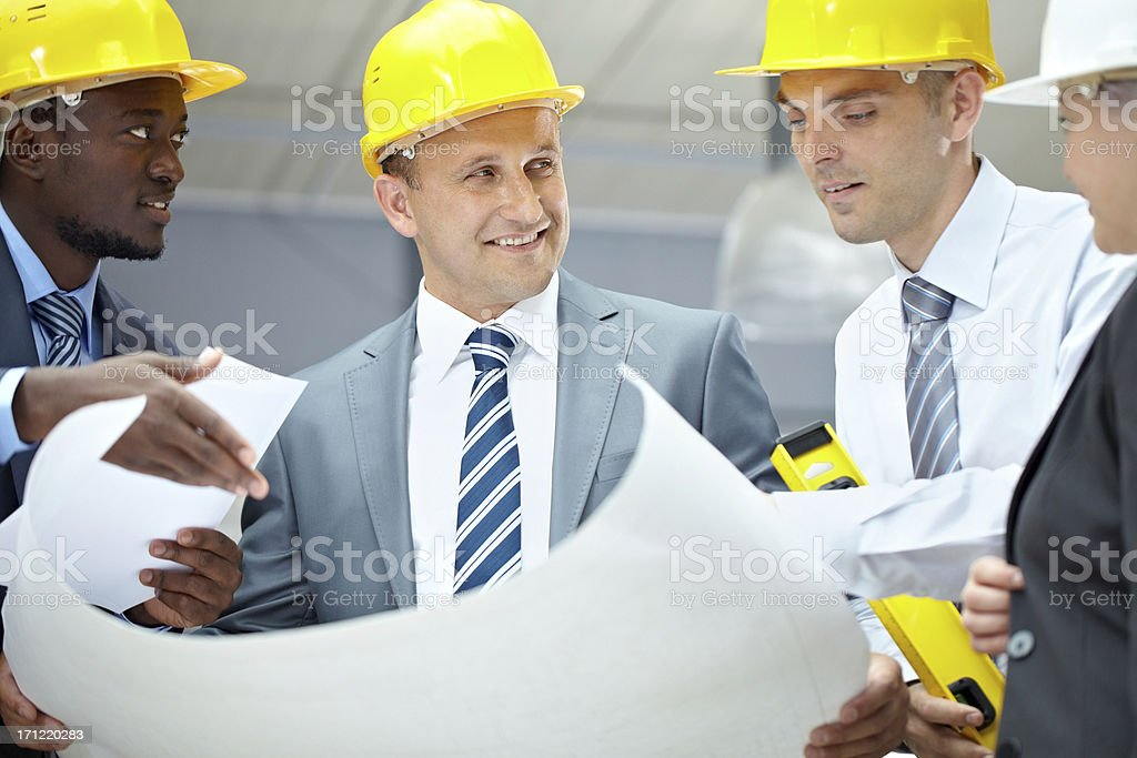 New housing project stock photo