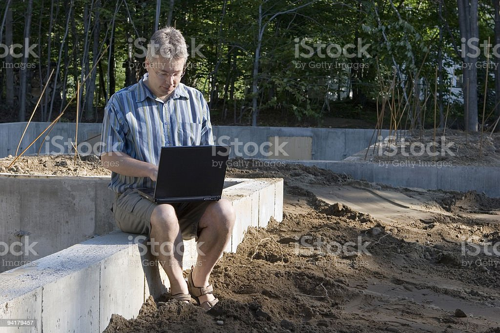 New Housing Starts royalty-free stock photo