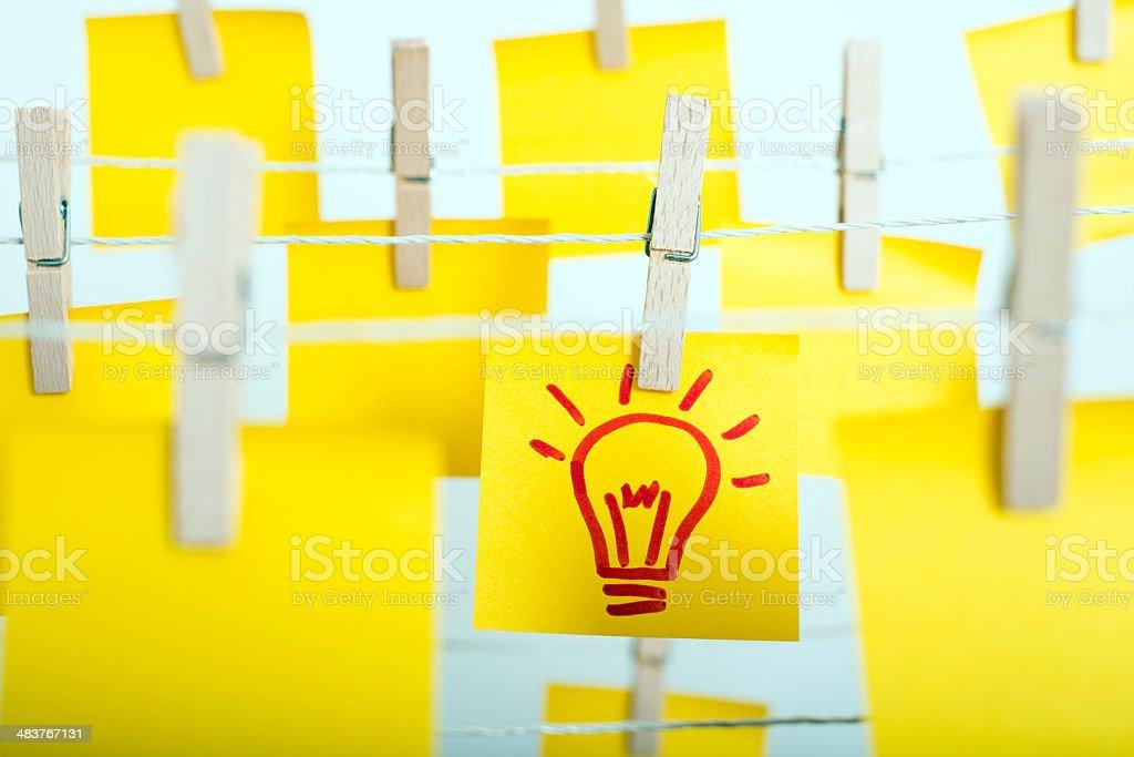 new idea concept royalty-free stock photo