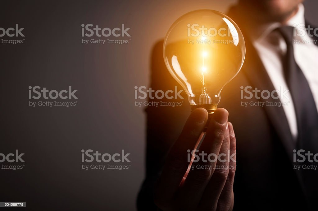 Novo ideia - fotografia de stock