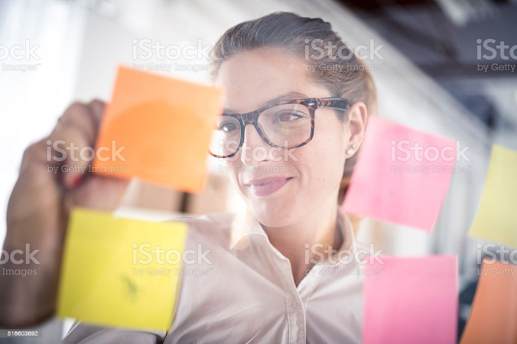 New ideas for new customers stock photo
