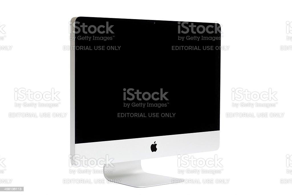 New iMac desktop computer, Mid 2011 model. royalty-free stock photo