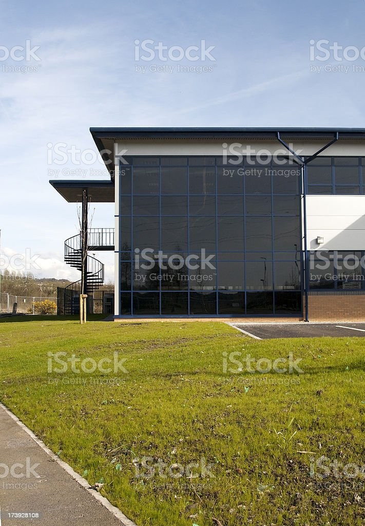 New industrial unit royalty-free stock photo