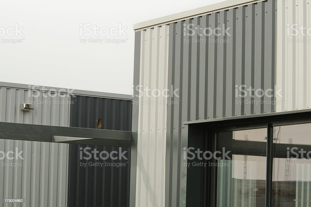 new industrial units stock photo