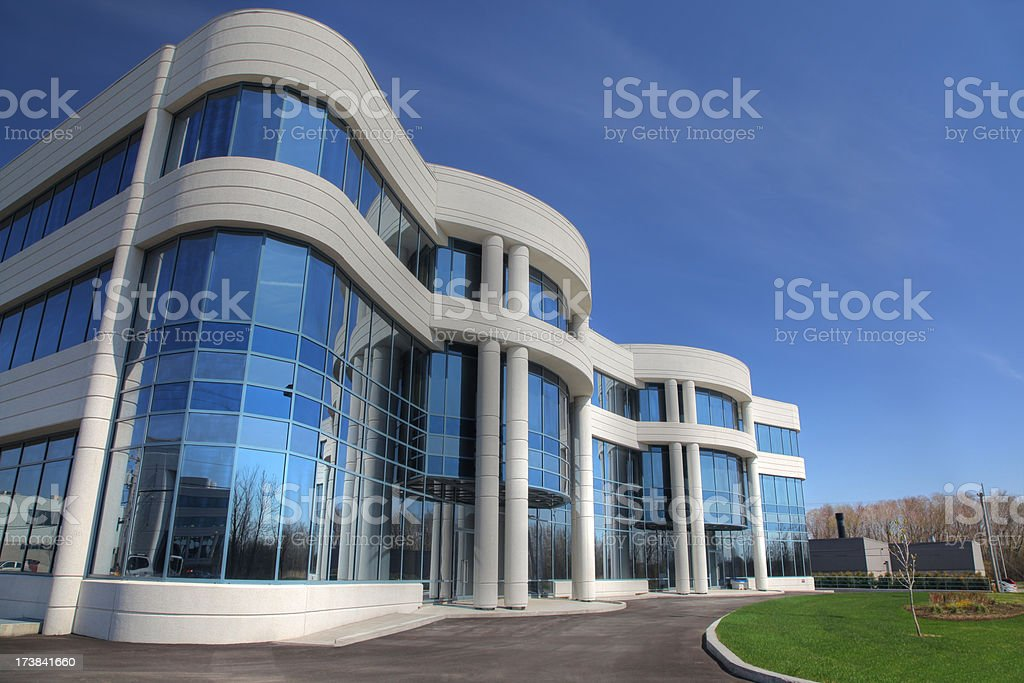 New Industry Building Exterior royalty-free stock photo