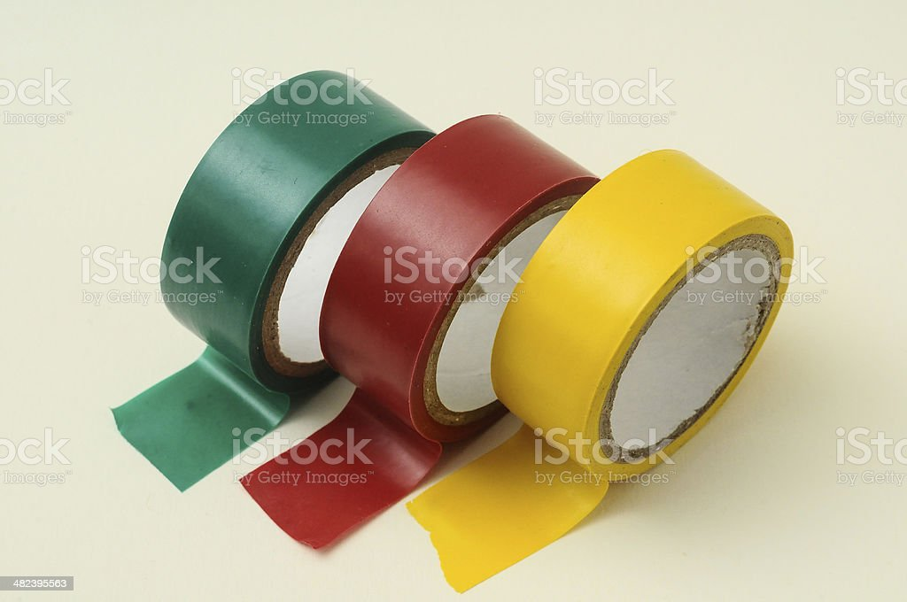 New Insulation Tape Roll stock photo