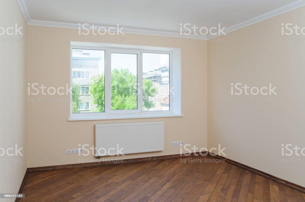 New interior room. stock photo