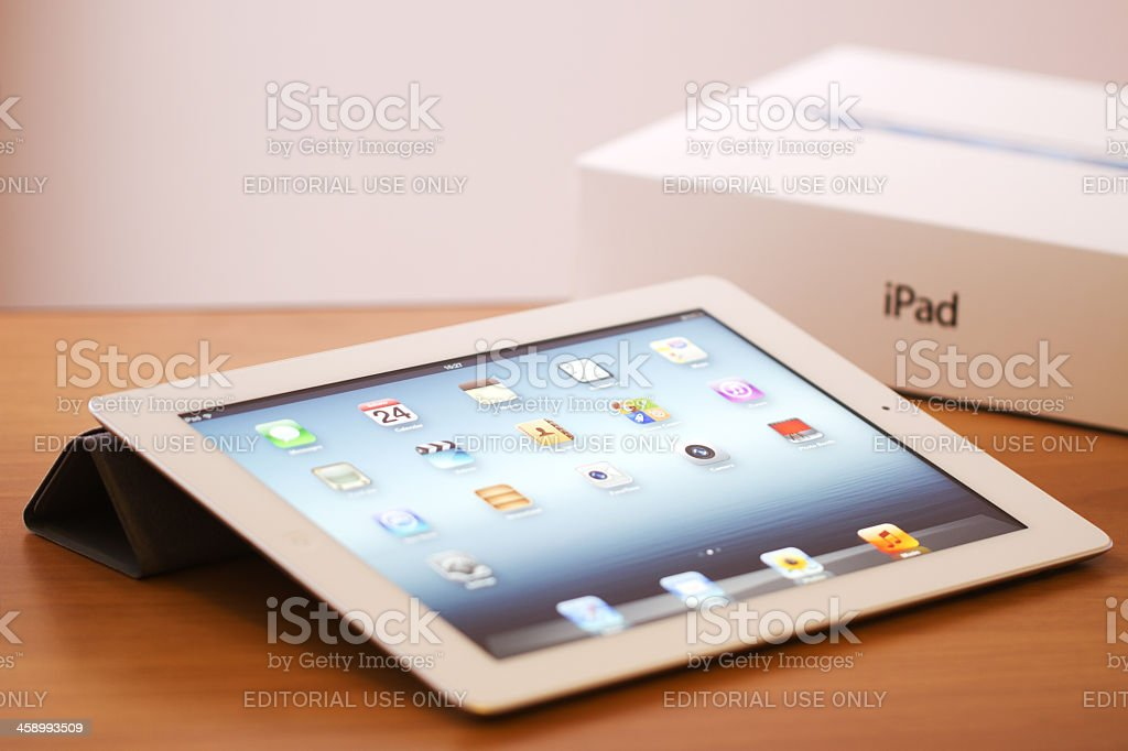 New iPad  - 3rd Generation stock photo