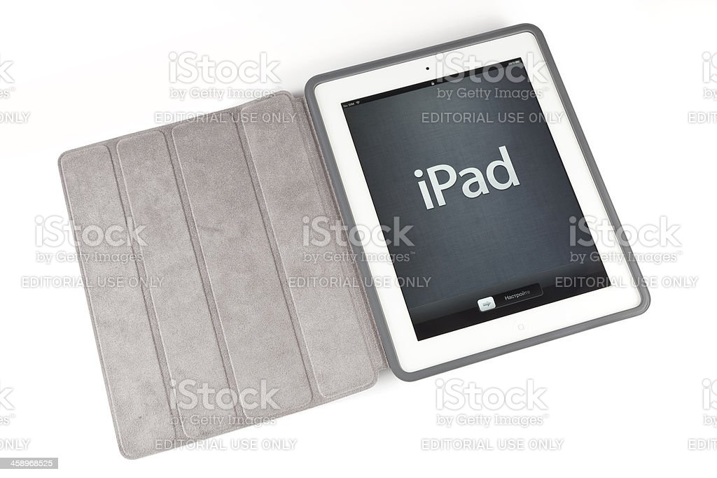 New ipad configuration royalty-free stock photo