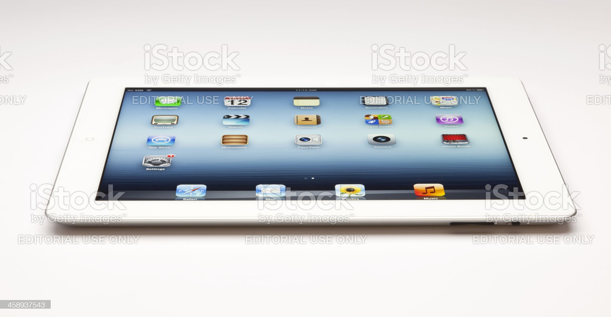 New ipad on the table royalty-free stock photo