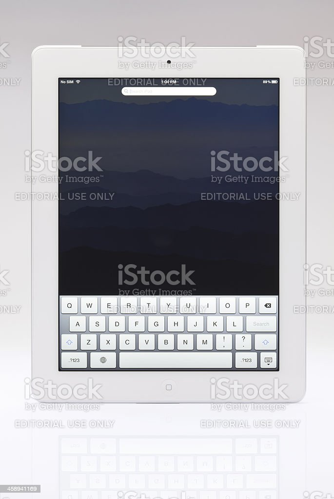 New Ipad royalty-free stock photo