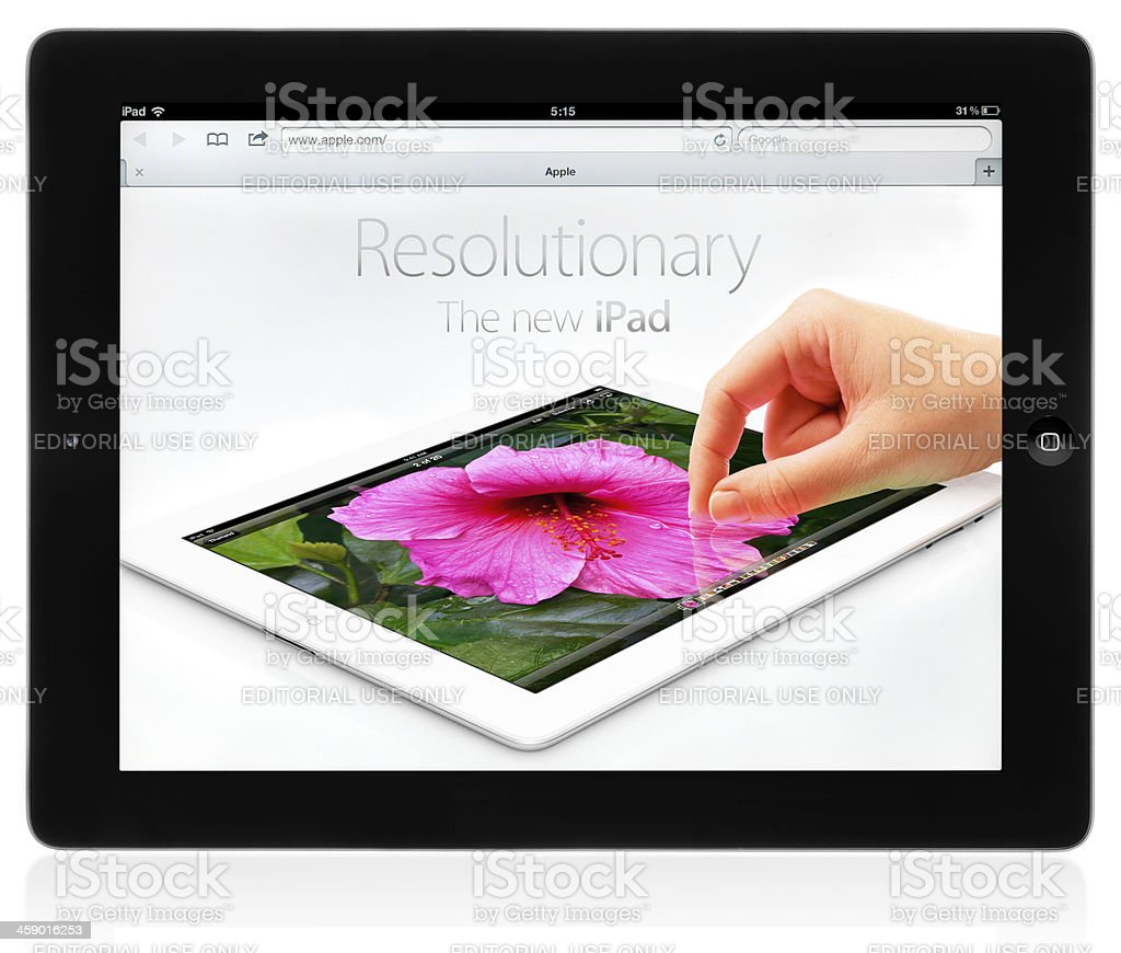 New iPad (3rd Generation) royalty-free stock photo