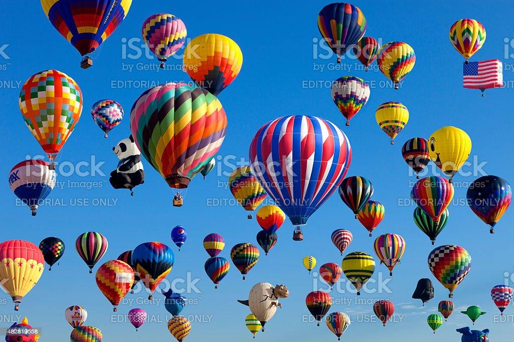New Jersey Balloon Festival stock photo