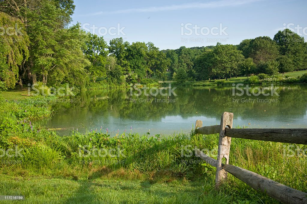 New Jersey Park stock photo