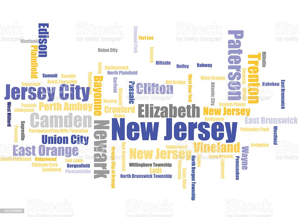 New Jersey stock photo
