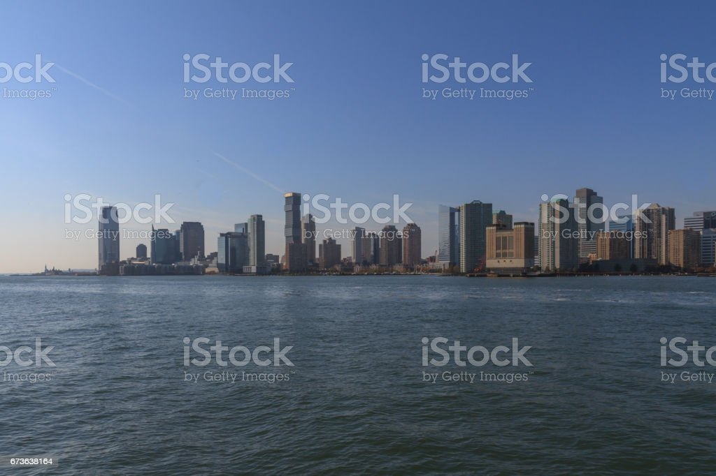 New Jersey Skyline stock photo